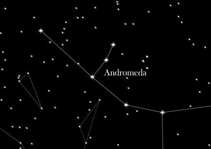 Costellazione Andromeda
