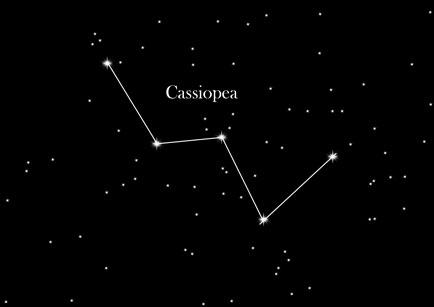 Costellazione Cassiopea